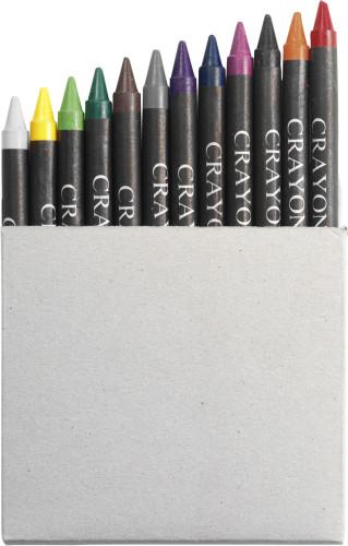 Billede af 12 stk. farveblyanter i æske