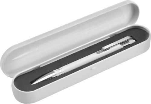 Billede af Aluminium kuglepen i tinæske