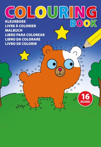 Billede af A5 malebog til børn