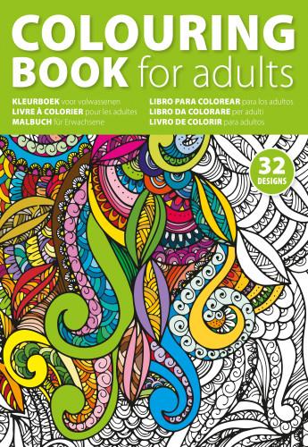 Billede af A4 malebog til voksne