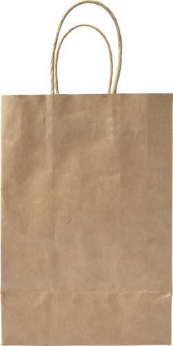Billede af Papirspose brun lille 130 g/m2