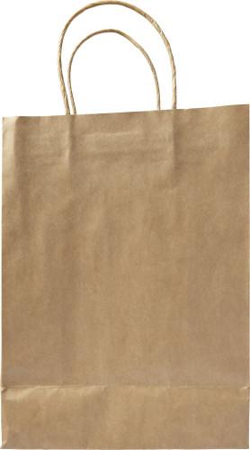 Billede af Papirspose brun mellem 130 g/m2