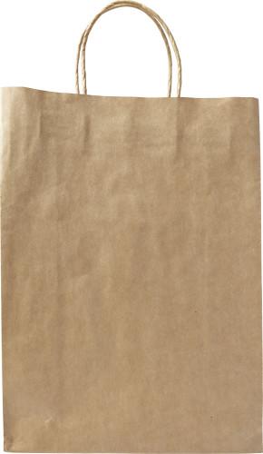 Billede af Papirspose brun stor 130 g/m2