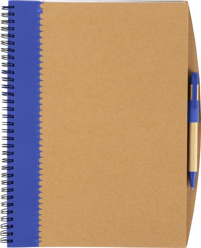 Billede af Spiral ECO notesbog m/kuglepen