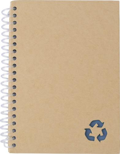 Billede af Spiral notesbog i stone paper