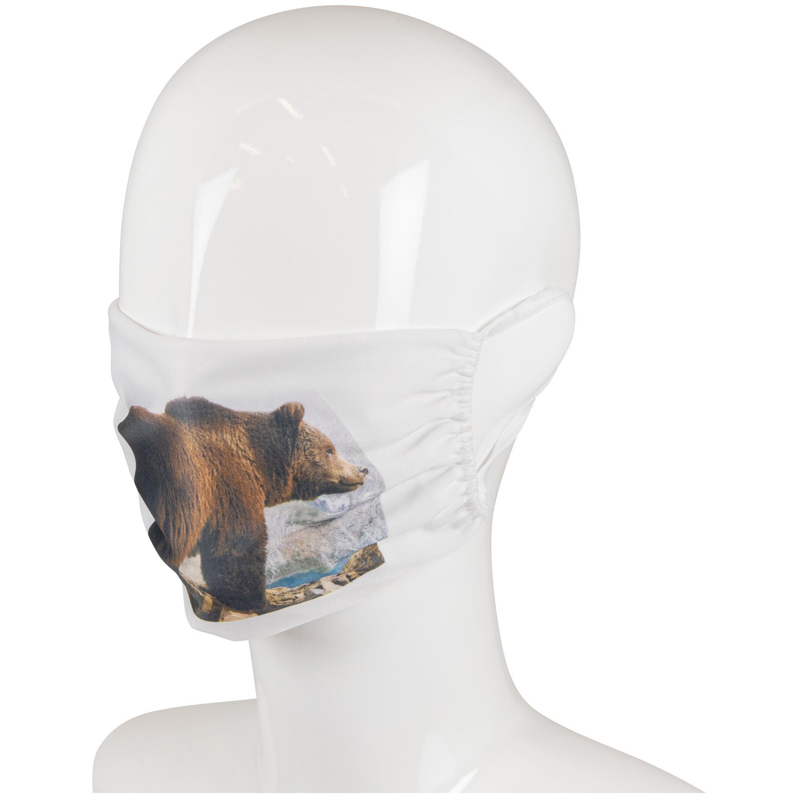 Billede af Ansigtsmaske m/sublimationstryk