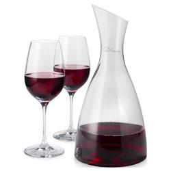 Billede af Prestige karaffel med 2 vinglas