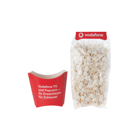 Billede af Popcorn i pose m/papkop