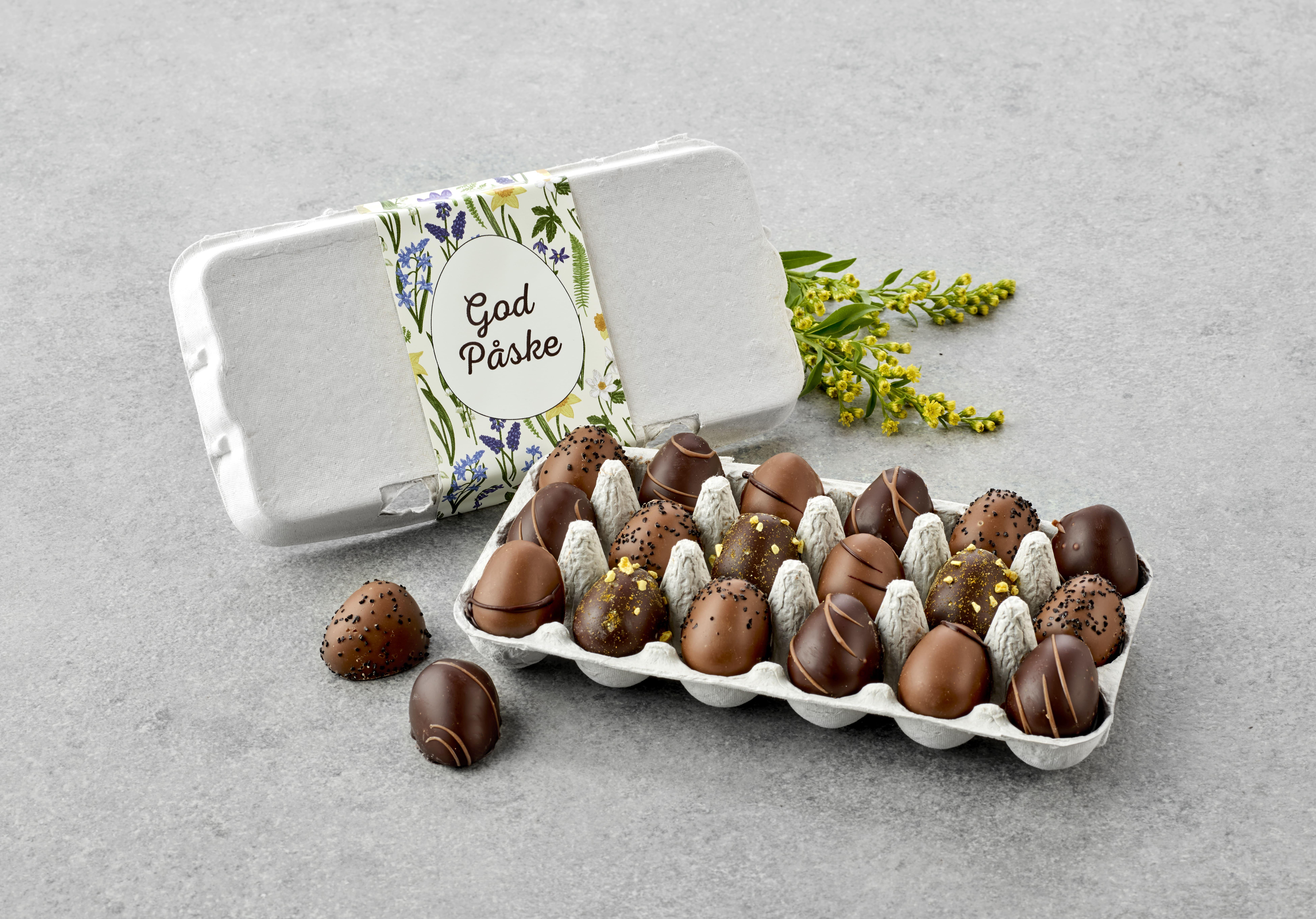 Billede af Æggebakker 18 marcipanæg 180 g.