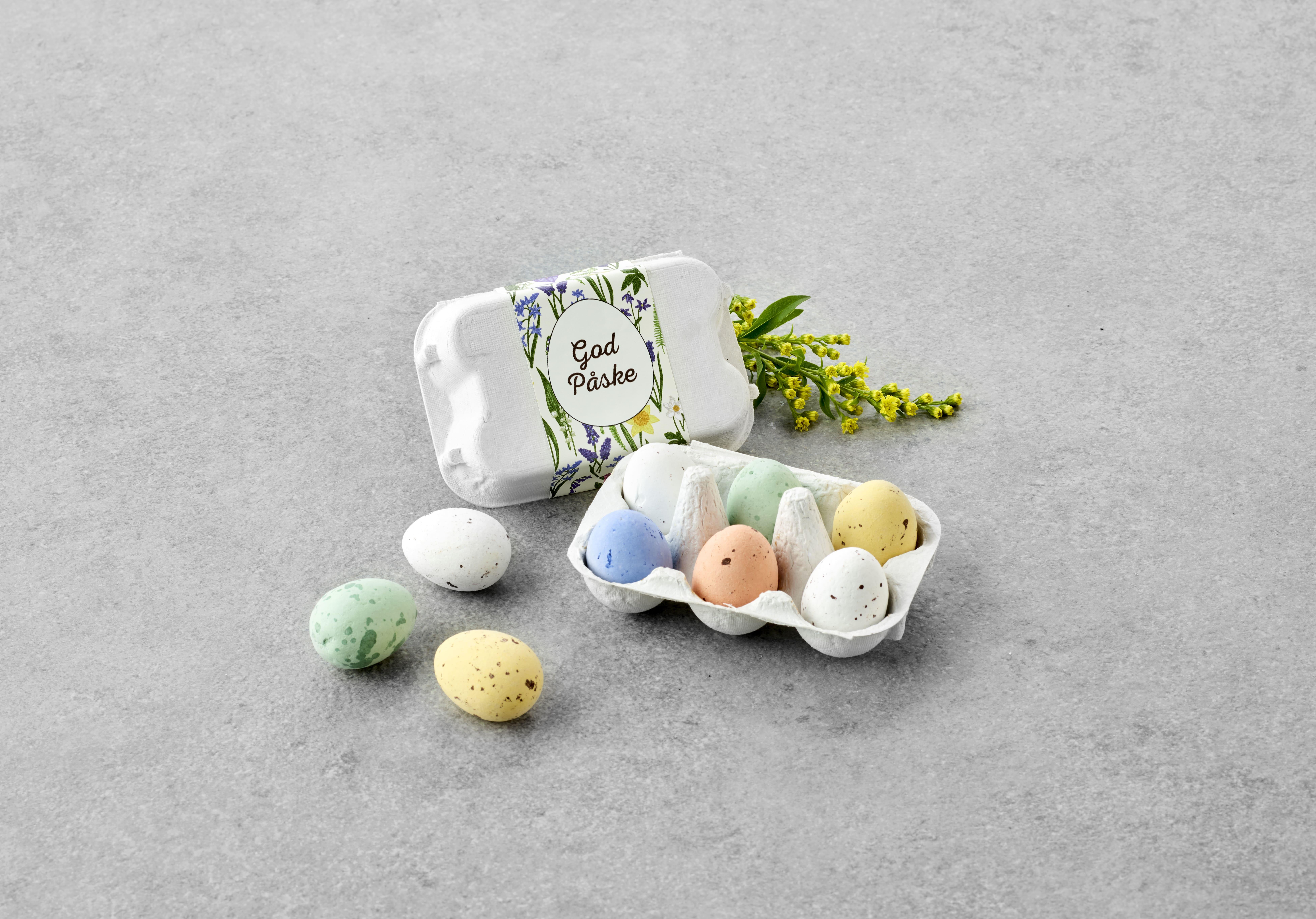 Billede af Æggebakker 6 belgiske æg 65 g.
