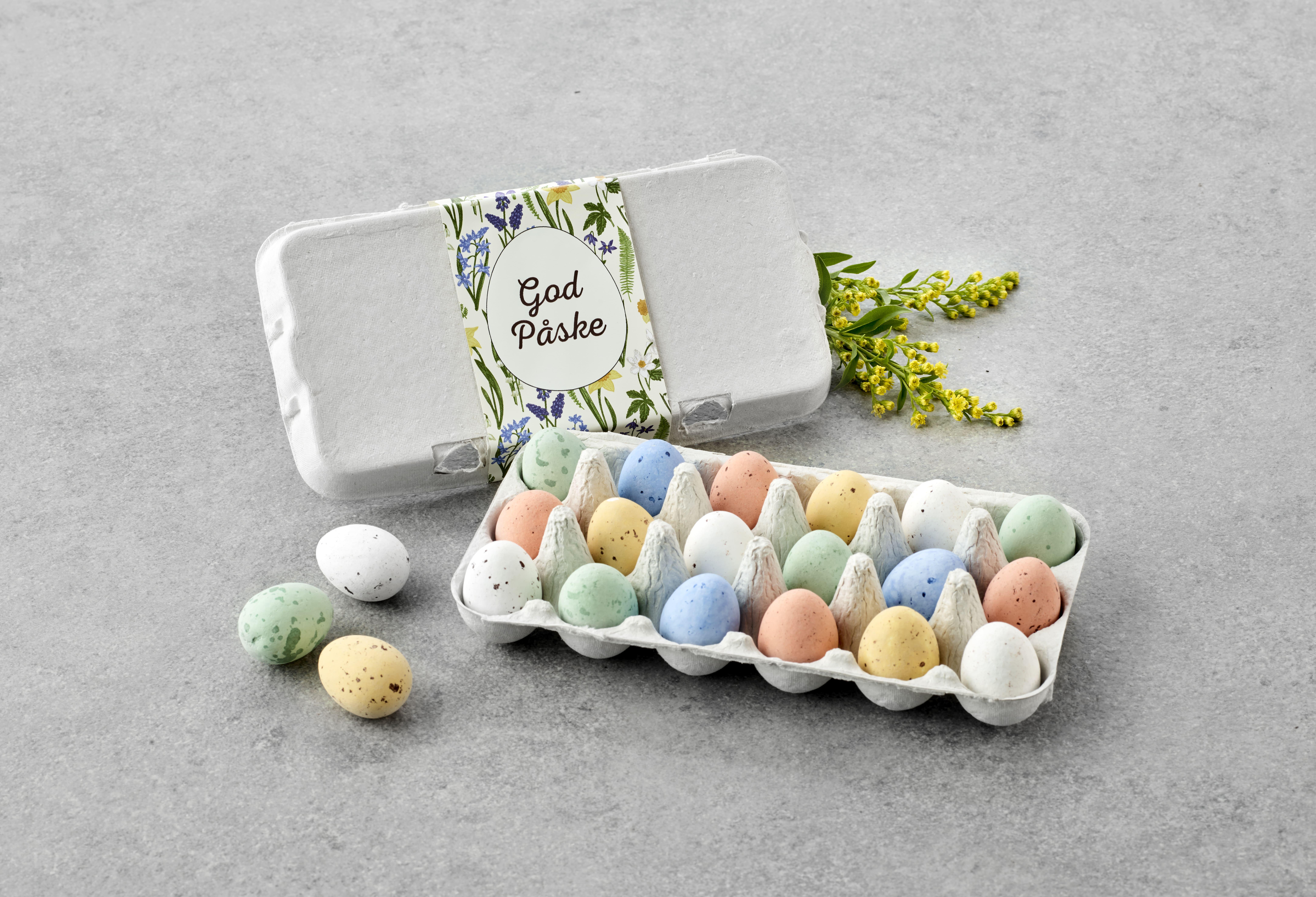Billede af Æggebakker 18 belgiske æg 200 g