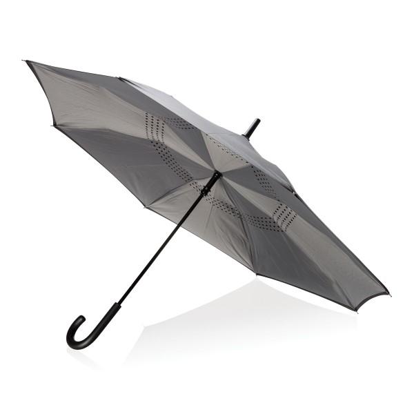 """Billede af 23"""" manuel reverse paraply"""